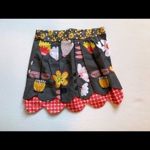 Jelly the Pug skirt, size 6x